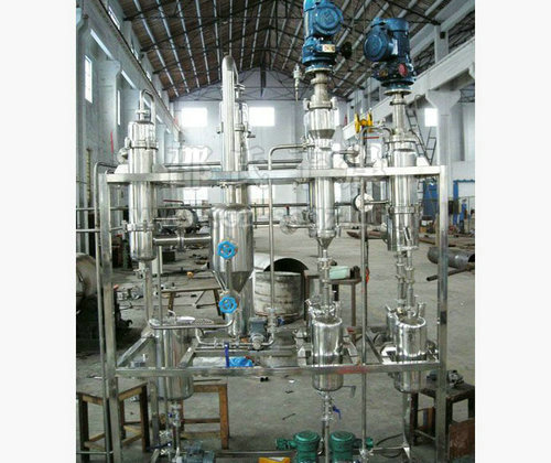 Short-molecular distillation