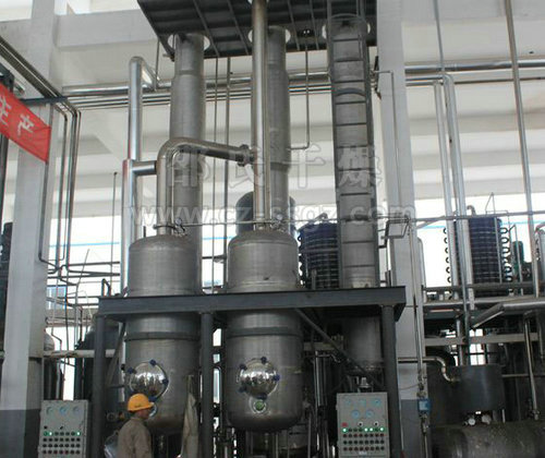 Second effect falling film evaporator _ double-effect falling film
